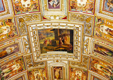 Art of Italy in Vatican Stock Photography