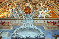Art of Italy in Vatican Royalty Free Stock Image