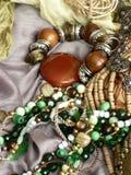 Art Jewelry Fashion Background Stock Photos
