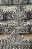 The Art of Khmer in Patuxay, Laos Royalty Free Stock Photos