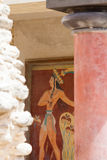 Art of Knossos Stock Image