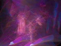 Art-Kontrastdesign Traumfarbzusammenfassung digitalen Fractal kreatives einzigartiges dekoratives, festlich stock abbildung