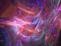 Art-Kontrastdesign Traumfarbzusammenfassung digitalen Fractal surreales kreatives einzigartiges dekoratives, festlich lizenzfreie abbildung