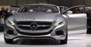 Art-Konzept-Auto Mercedes-F800 Lizenzfreie Stockbilder