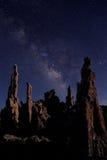 Art Landscape Image de las tobas volcánicas del mono lago Fotos de archivo libres de regalías