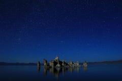 Art Landscape Image de las tobas volcánicas del mono lago Imagen de archivo