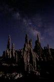 Art Landscape Image de las tobas volcánicas del mono lago Fotografía de archivo libre de regalías