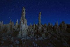 Art Landscape Image de las tobas volcánicas del mono lago Imágenes de archivo libres de regalías
