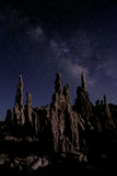 Art Landscape Image de las tobas volcánicas del mono lago Imagenes de archivo