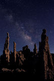 Art Landscape Image of the Tufas of Mono Lake Royalty Free Stock Photos