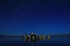 Art Landscape Image of the Tufas of Mono Lake Stock Image