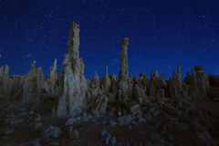 Art Landscape Image of the Tufas of Mono Lake Royalty Free Stock Images
