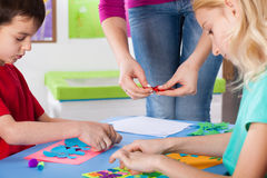 Art lesson Royalty Free Stock Image