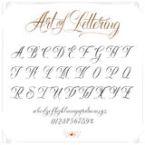 Art of Lettering Stock Photos