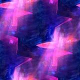 Art light pink, purple background texture watercolor seamless ab Stock Photos