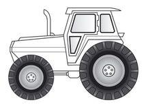 art line tractor απεικόνιση αποθεμάτων