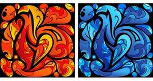 Art liquide Photos libres de droits