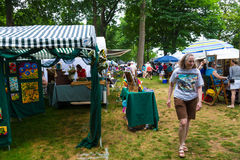 Art in the Lititz Park royalty free stock images