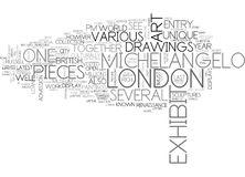 Art In Londonword Cloud Photographie stock