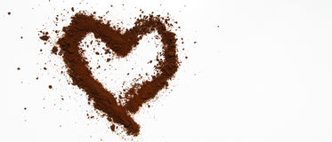 Art of Love coffee Stock Photography