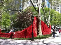 Art at Madison Square Park Stock Photography