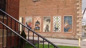 Art On Main Imagen de archivo libre de regalías