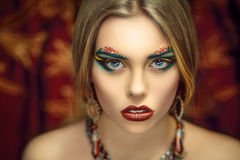Art make-up Stock Photos