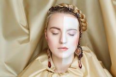 Art make up royalty free stock images