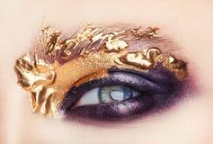 Art Makeup Lizenzfreies Stockbild