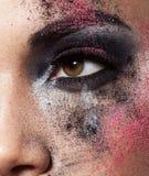 Art makeup Stock Photo