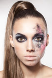 Art makeup Royalty Free Stock Image