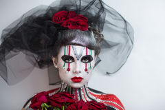 Art Makeup Imágenes de archivo libres de regalías