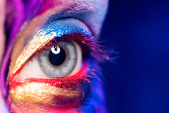 Art Makeup criativo Imagens de Stock