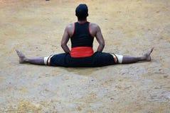 Art martial de Kalaripayattu, Kerala images libres de droits