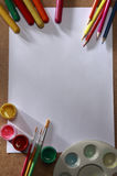 Art material Royalty Free Stock Photography