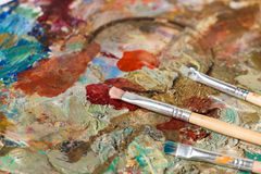 Art materials stock photos