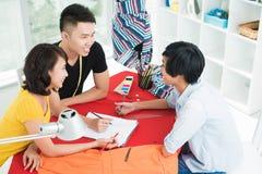 Art meeting Stock Photos