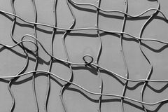 Art of mesh on wall Royalty Free Stock Image