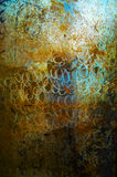 Art Metal background texture plate Stock Photography