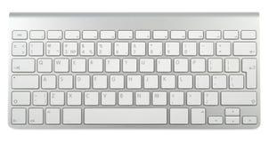 Art-metallische Tastatur Lizenzfreie Stockbilder