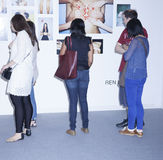 Art Miami New York VIP Preview Royalty Free Stock Images