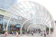 With art and modern architecture in SHENZHEN nanshan central square Royalty Free Stock Photography
