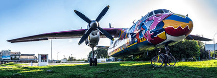 Art moderne d'avion Image libre de droits