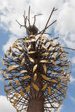 Art moderne de Luce e Ombra de Penone - Florence Boboli Gardens Photographie stock libre de droits