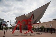 Art moderne et architecture moderne à Denver Image libre de droits