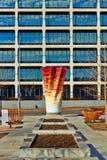 Art moderne - parc de survivants de Cancer de Bloch Photographie stock libre de droits