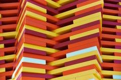 Art moderne - parc de survivants de Cancer de Bloch Images libres de droits