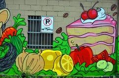 Art Montréal de rue Images stock