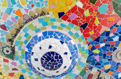 Art mosaic glass Royalty Free Stock Images