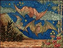 Art, Mosaic, Tapestry, Pattern Stock Image